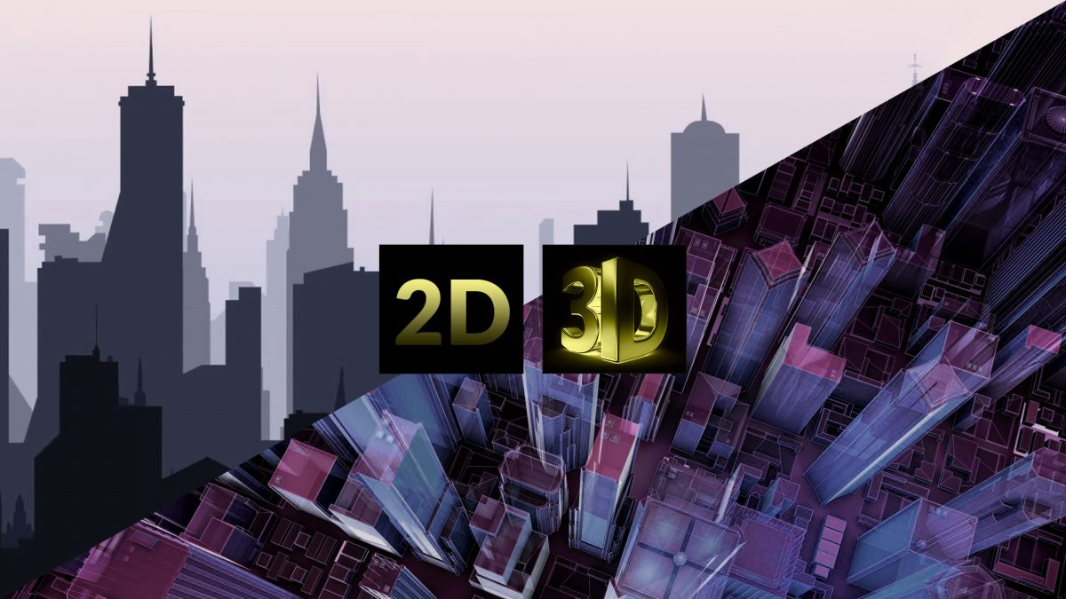 Types of 2D and 3D Graphics