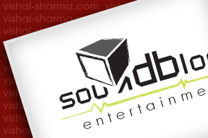Logo Design for Sound Block Entertainment