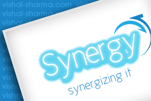 Combination Mark Logo Design for Synergy an IT Service providing Company, USA.