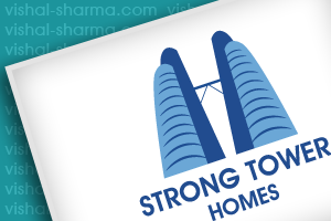 Logo Design for Strong Tower Homes Solutions LLC