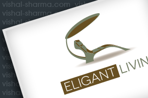 Combination Mark Logo Design for Eligant Living (Furniture)