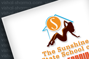 Combination Mark Logo Design for The Sunshine state school of spray tanning, US