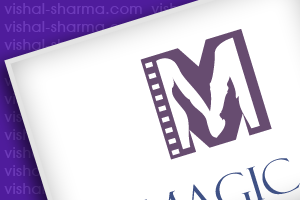 Iconic Logo Design for Magica a wedding film production company